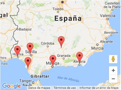 Road Show España - Andalucía