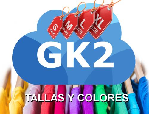 Módulo de tallas y colores